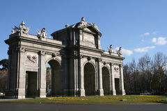 Puerta de Alcala, Madrid. Royalty Free Stock Images