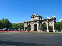 Puerta DE Alcala, Madrid Stock Foto's