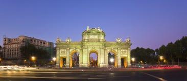Puerta de Alcala, Madrid, Espagne Photo stock