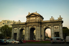 Puerta de Alcala, Madrid Royalty Free Stock Image