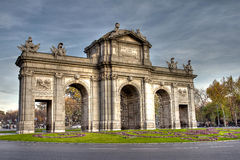 Puerta de Alcala, Madrid Stock Photography