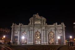 Puerta de Alcala in Madrid Royalty Free Stock Photo