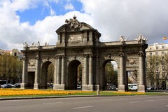 Puerta de Alcala, Madrid Royalty Free Stock Photo