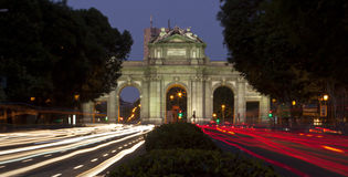 Puerta de Alcala, Madrid, Spain Stock Photos