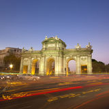 Puerta de Alcala, Madrid, Spain Royalty Free Stock Photo