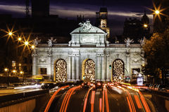 Puerta de Alcala, Madrid, Spain Royalty Free Stock Image