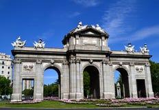 Puerta de Alcala in Madrid, Spain Stock Image