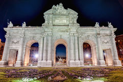 Puerta de Alcala at Madrid, Spain Stock Photography