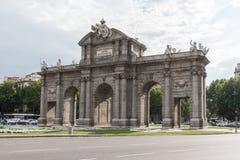Puerta de Alcala, Madrid, Spain Royalty Free Stock Image