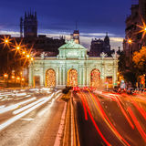 Puerta de Alcala, Madrid, Spain Royalty Free Stock Images