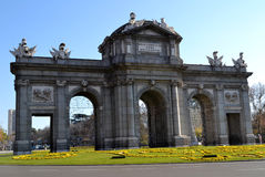 Puerta de Alcala, Madrid, Spain Stock Images