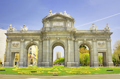 Puerta de Alcala, Madrid. Royalty Free Stock Photos