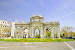 Puerta de Alcala, Madrid, Spain. Stock Photography