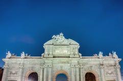 Puerta de Alcala at Madrid, Spain Stock Photography