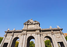 Puerta de Alcala in Madrid Stock Photos