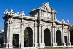 Puerta de Alcala. Madrid, Spain Royalty Free Stock Images