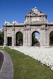 Puerta de Alcala. Madrid, Spain Royalty Free Stock Photos