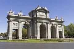 Puerta De Alcala, Madryt fotografia royalty free
