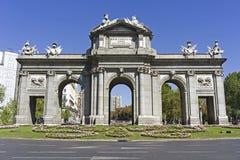 Puerta De Alcala, Madryt fotografia stock
