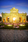 Puerta De Alcala, Madryt, Hiszpania Zdjęcie Royalty Free