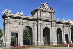 Puerta de Alcala2 Royalty Free Stock Photo