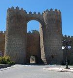 Puerta de Alcazar Avila Στοκ Φωτογραφίες