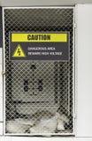 Puerta de alto voltaje Imagen de archivo