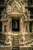 Puerta de Angkor Wat Foto de archivo libre de regalías