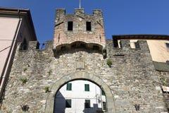 Puerta de Barga Imágenes de archivo libres de regalías