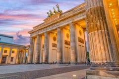 Puerta de Berlín, Alemania Brandeburgo fotos de archivo libres de regalías