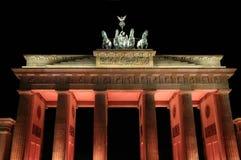Puerta de Berlín Brandenburgo Fotografía de archivo libre de regalías