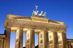 Puerta de Berlín Brandenburgo Foto de archivo libre de regalías