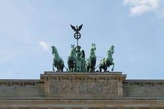 Puerta de Berlín Brandenburgo Imágenes de archivo libres de regalías