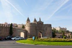 Puerta de Bisagra Stock Photo