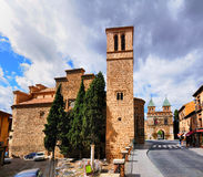 Bisagra Gate, Toledo, Spain Stock Images