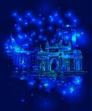 Puerta de Bombay la India libre illustration