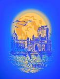 Puerta de Bombay, la India libre illustration