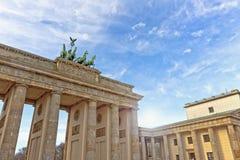 Puerta de Brandeburgo Fotografía de archivo