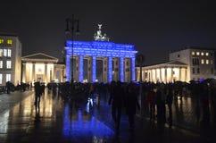 Puerta de Brandeburgo Imagen de archivo libre de regalías
