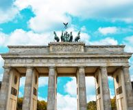 Puerta de Brandeburgo Berl?n - Alemania foto de archivo libre de regalías