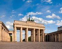Puerta de Brandeburgo en Berlín fotografía de archivo libre de regalías