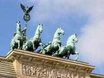 Puerta de Brandenburgo Fotos de archivo