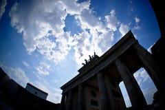 Puerta de Brandenburgo Foto de archivo