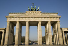 Puerta de Brandenburgo Imágenes de archivo libres de regalías