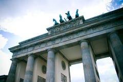 Puerta de Brandenburgo, Berlín Foto de archivo libre de regalías