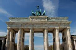 Puerta de Brandenburgo en Berlín foto de archivo