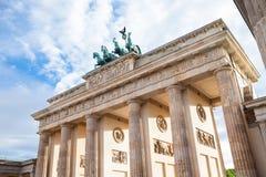 Puerta de Brandenburgo en Berlín imagen de archivo libre de regalías
