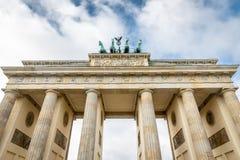 Puerta de Brandenburgo en Berlín, Alemania Imagen de archivo libre de regalías