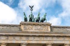 Puerta de Brandenburgo en Berlín, Alemania Imagenes de archivo