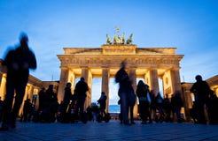 Puerta de Brandenburgo en Berlín, Alemania Imágenes de archivo libres de regalías
